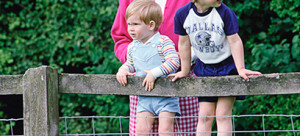 Princess Di, William and Harry