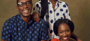 Pastor Tony with daughters 2