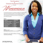 WomanPrenuer: A One Day Seminar For Woman Entreprenuers