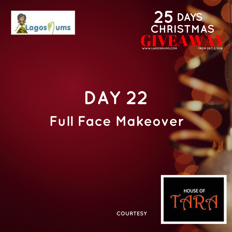 Day 22 LagosMums Christmas Giveaway