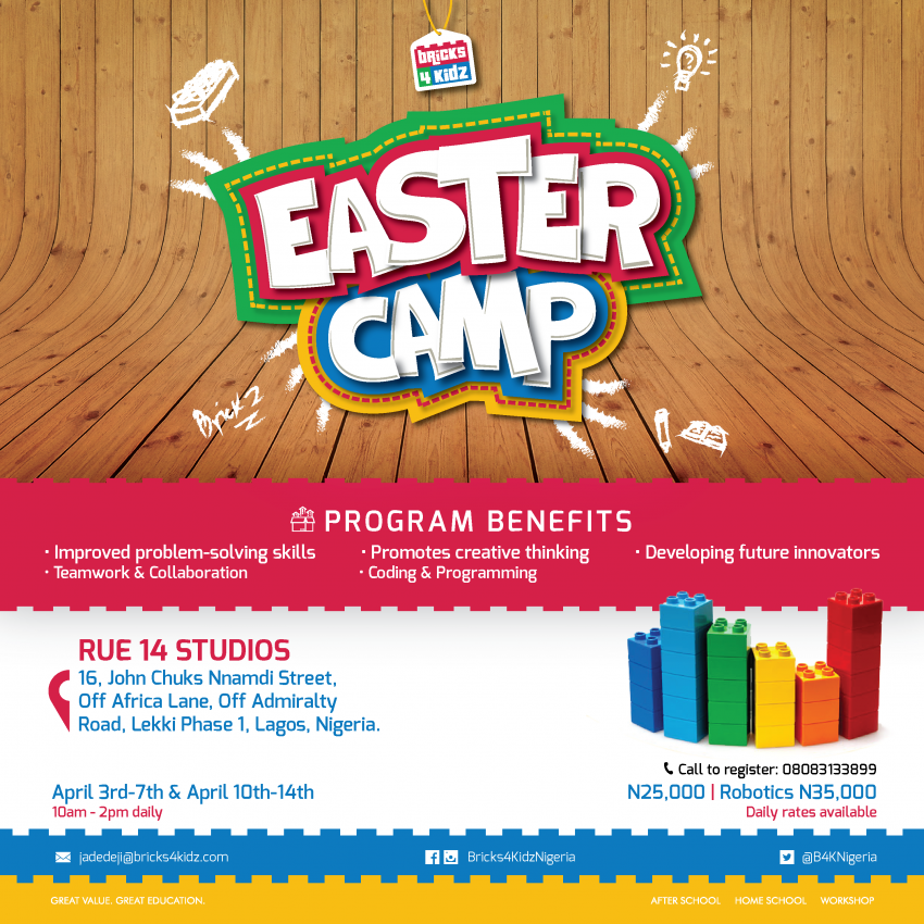 Bricks4kidz Easter Camp