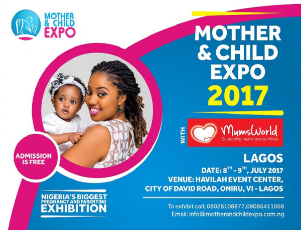 Do not Miss The Biggest Pregnancy & Parenting Exhibition! Be a Part Of The Mother & Child Expo 2017 | July 8th & 9th.