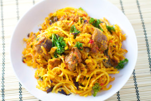 How to make yoodles and Egusi