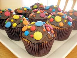 cupcakes with smarties