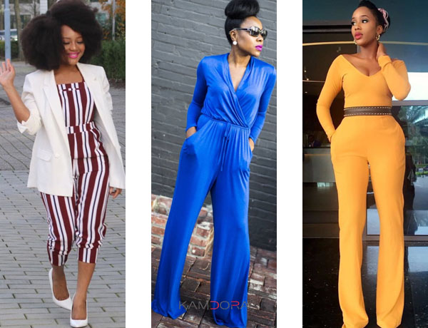 Jumpsuit fashion