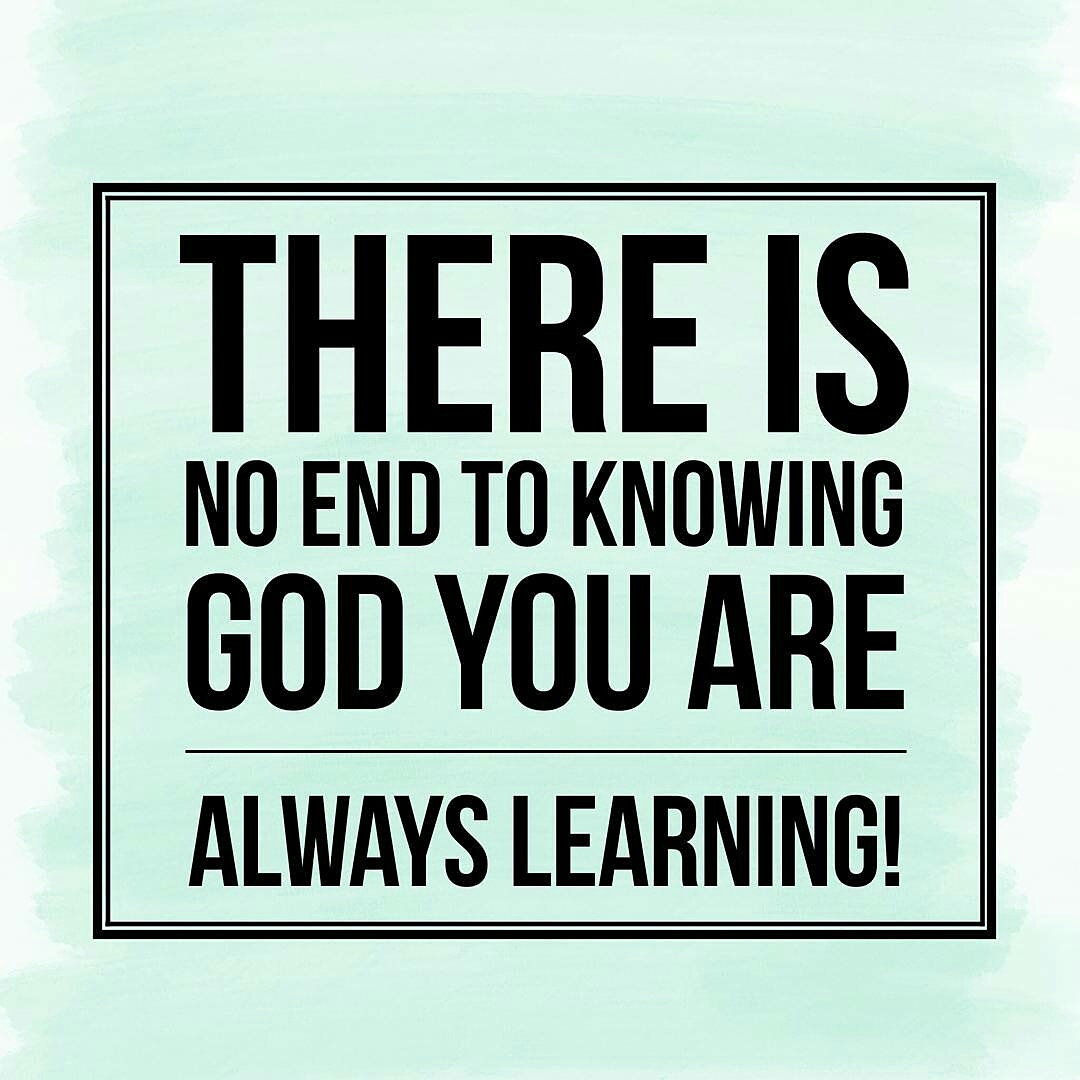 Learning from GOD