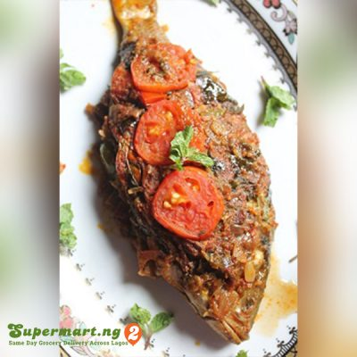 recipe baked peppered fish