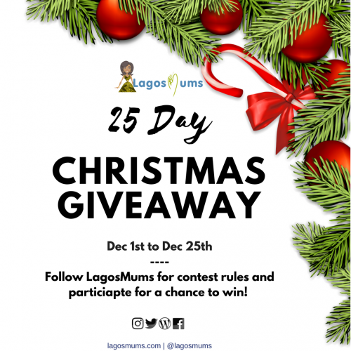 25 Day LagosMums Christmas Giveaway