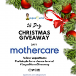 mothercare 25 days christmas giveaway