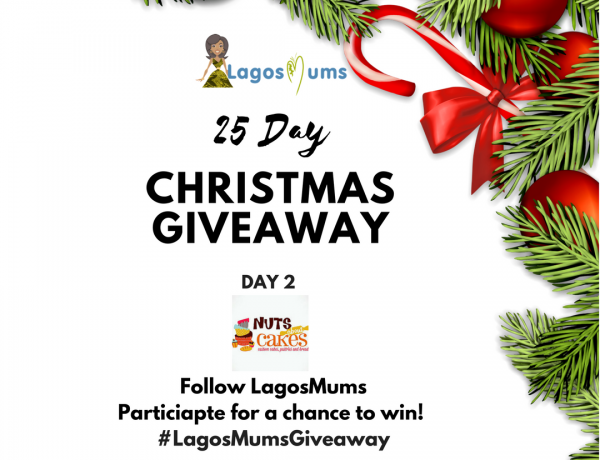 LagosMums 25 day christmas giveaway nuts about cakes