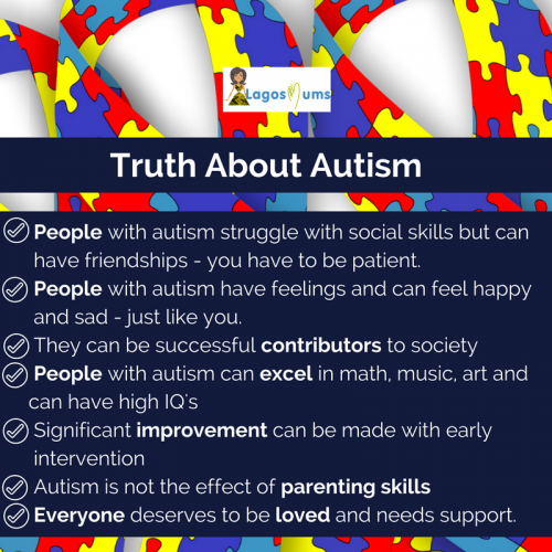 Myths and Truth about Autism