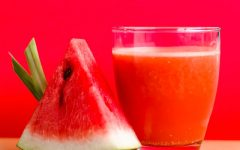 Recipe Watermelon-apple smoothie