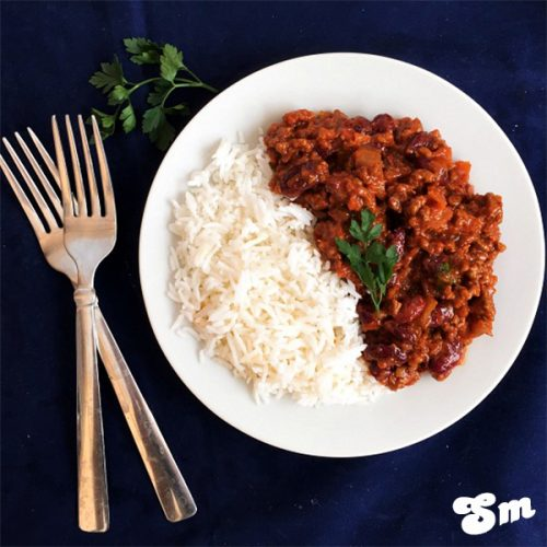 Recipe- How To Make Chilli Con Carne With Rice