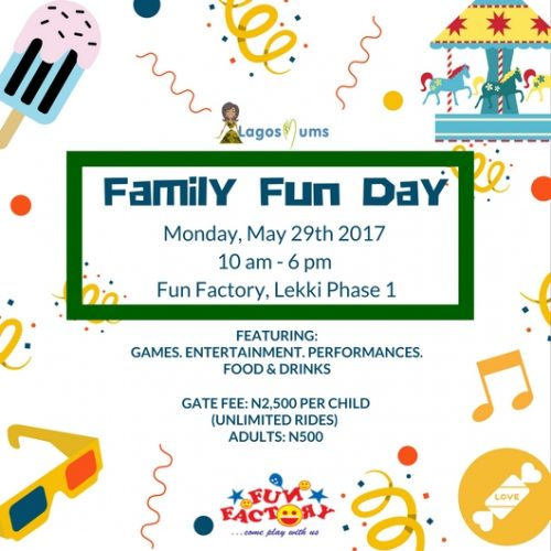 LagosMums Family Fun Day At Fun Factory