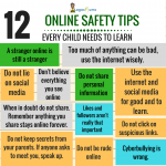 12 online safety tips