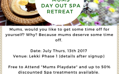 LagosMums Mums Day out and spa day
