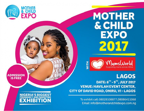 Do not Miss The Biggest Pregnancy & Parenting Exhibition! Be a Part Of The Mother & Child Expo 2017   July 8th & 9th.