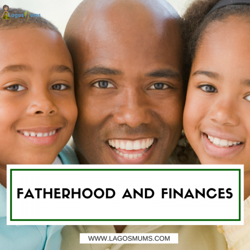 fatherhood and finances