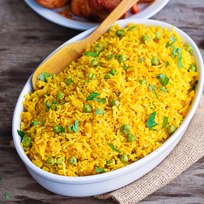 Recipe- How To Make Turmeric Rice
