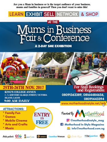 FREE FAMILY FUN FAIR & CONFERENCE POWERED BY MOTHERHOOD IN STYLE
