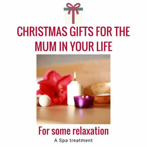 christmas gifts spa treatment