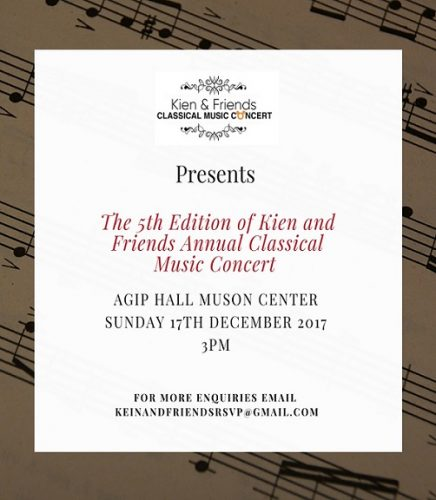 kien and friends Musical Concert