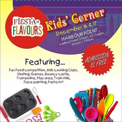 fiesta of flavours kid's corner