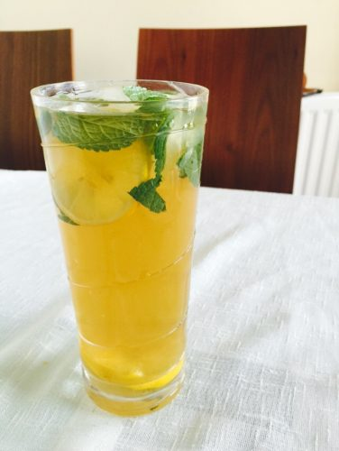 moringa iced tea