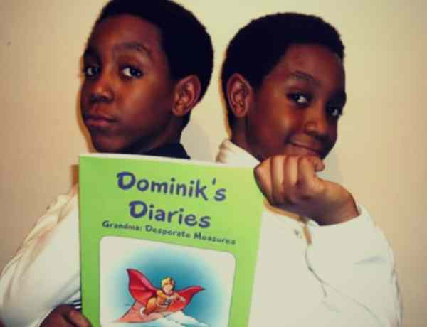 10 year old Nigerian twin authors