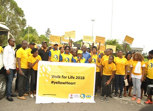 Yellow Heart train moves to cross river state