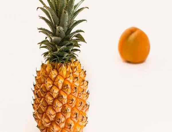 pineapple peel body scrub