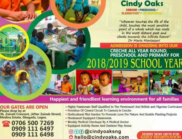Cindy Oaks Educational