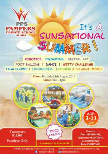 summer camp lagos 2018 guide