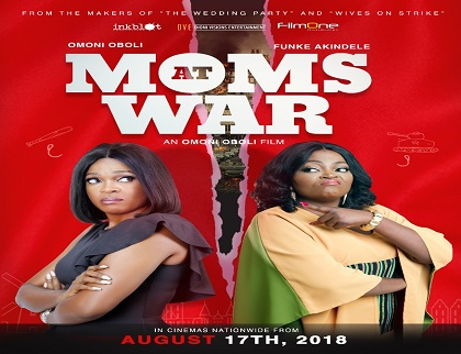 Image result for mom's at war funke and omoni