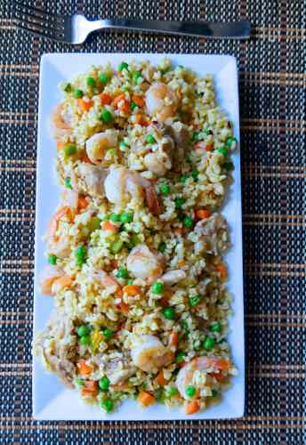 Coconut Fried Bulgur Wheat