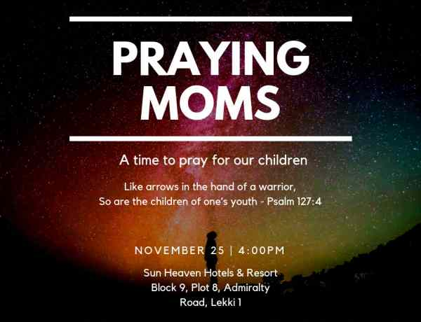 Praying moms