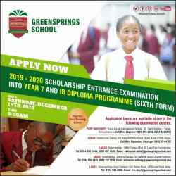 GreenSprings Offers Scholarship For World-Class Education