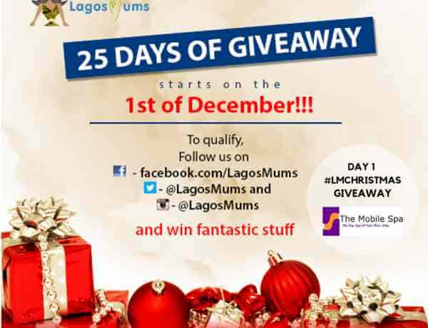 25 day Christmas giveaway