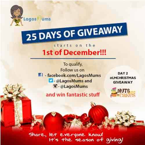 Day 2 of LagosMums Christmas Giveaway