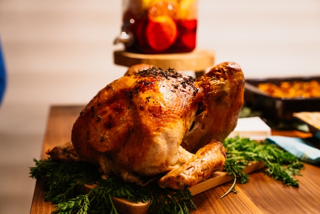 Turkey With Plantain Stuffing