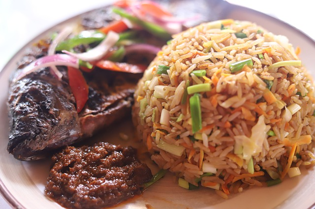 recipe jollof rice with blended vegetables