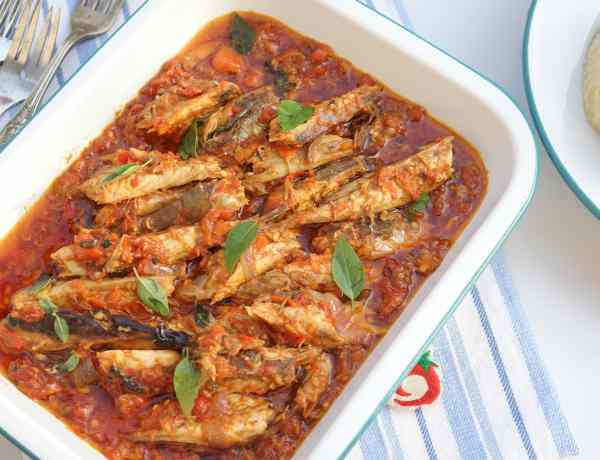 smoked mackerel sauce