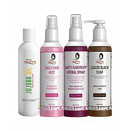 AfricanNaturalistas Healthy Scalp Set