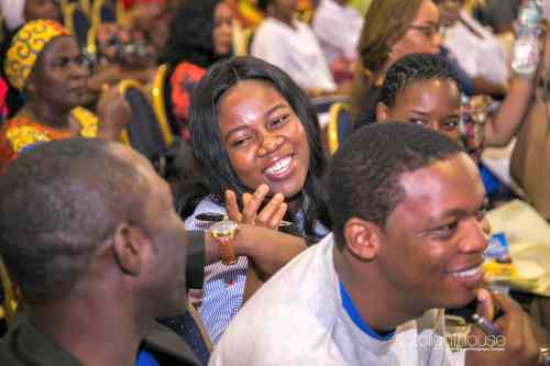 Audience at LagosMums Conference