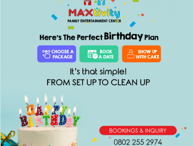 Maxtivity – A Family Entertainment Centre