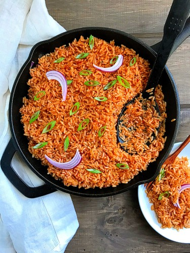 Vegan Jollof Rice