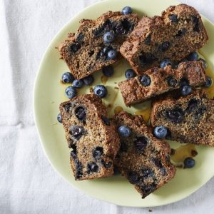 Baking Through The Anxiety – Blueberry Toast Loaf Recipe