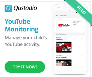 Qustodio YouTube monitoring