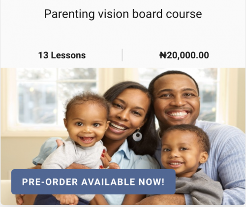 Parenting vision course Lagosmums