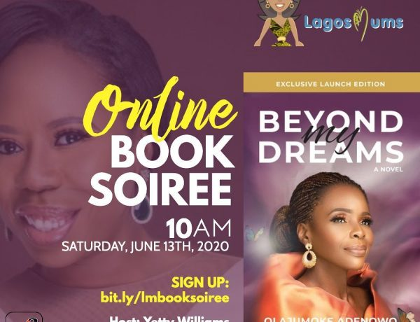 Book soirée with Mrs Olajumoke Adenowo | June 13th